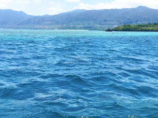 海の色が綺麗でした*の写真・画像素材[2890124]