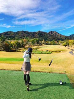 気持ちのいいゴルフ日和の写真・画像素材[2931158]