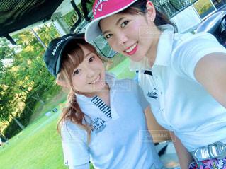 ゴルフカートにての写真・画像素材[2958250]