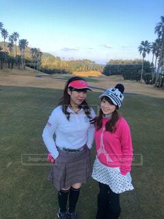 ゴルフ場にて♡の写真・画像素材[2958928]