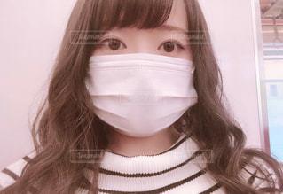 マスク女子の写真・画像素材[3269620]
