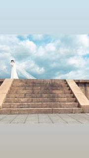 結婚式の前撮りの写真・画像素材[2891009]
