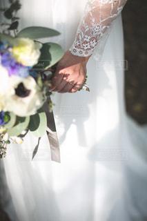 結婚式の前撮りの写真・画像素材[2891122]