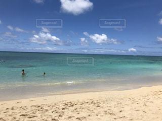青い海の写真・画像素材[2895730]