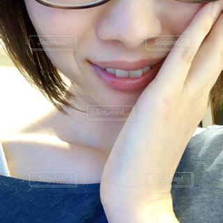 笑顔の女性の写真・画像素材[4406484]