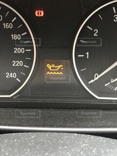 BMWオイルランプの写真・画像素材[3975745]