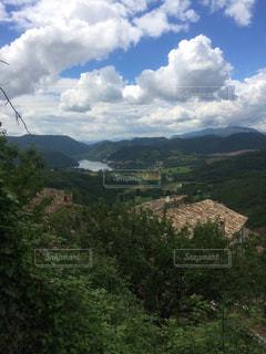 高台からの眺めの写真・画像素材[2895042]