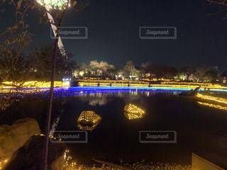 夜の眺めの写真・画像素材[2898244]