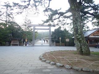 伊勢神宮の入口の写真・画像素材[2898272]