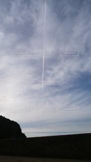 空の雲のクローズアップの写真・画像素材[2916069]