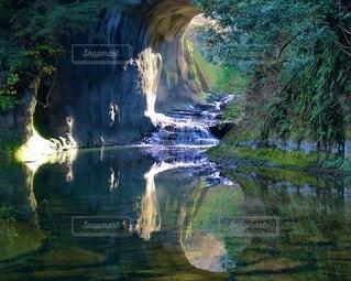 濃溝の滝の写真・画像素材[3071428]