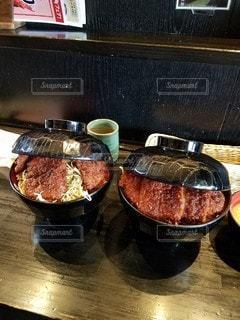 ソースカツ丼の写真・画像素材[3065910]
