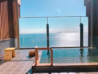 熱海の露天風呂の写真・画像素材[2943536]
