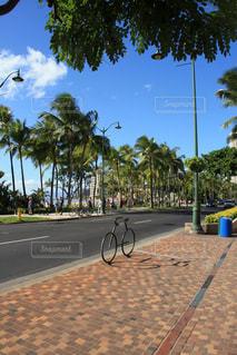 自転車のオブジェの写真・画像素材[2918329]