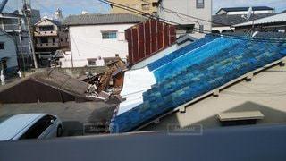 台風被害の写真・画像素材[2915999]