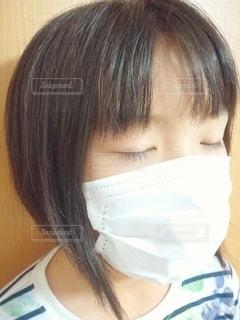 マスク姿の小学生の写真・画像素材[2985542]