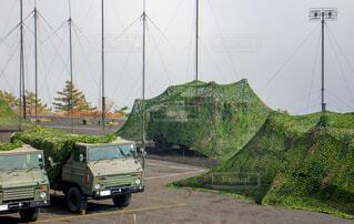 自衛隊の野営キャンプの写真・画像素材[3727655]