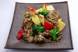 牛肉と春野菜の中華炒めの写真・画像素材[3753193]