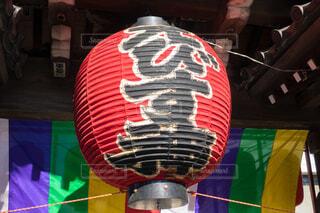 本覚寺の提灯の写真・画像素材[3829817]