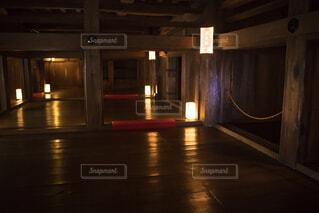 姫路城 西大柱の写真・画像素材[4048284]