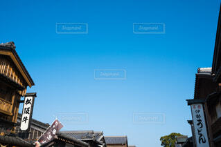 伊勢 おはらい町の写真・画像素材[4118319]