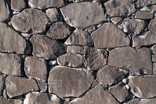 和城の石垣の写真・画像素材[4144174]