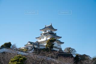 掛川城 天守閣の写真・画像素材[4144180]
