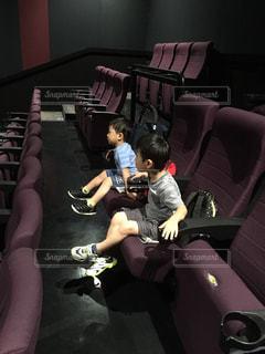 初めての映画館の写真・画像素材[897191]