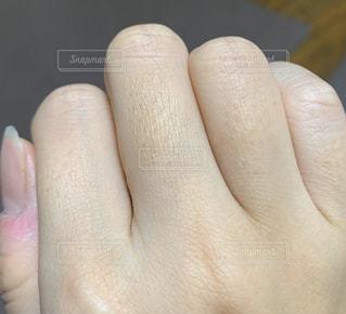 手のクローズアップの写真・画像素材[2966847]