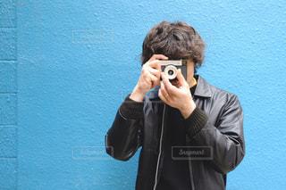 カメラ男子の写真・画像素材[2942478]
