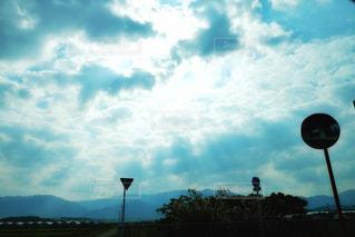 曇り空の写真・画像素材[2963494]