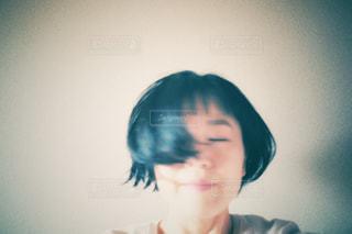 ボブの女性の写真・画像素材[3026054]