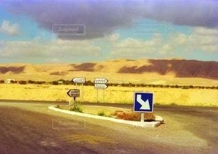 チュニジアの田舎風景の写真・画像素材[3401095]