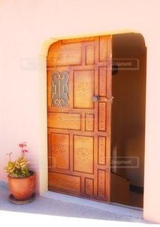 かわいいドアの写真・画像素材[3535832]