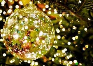 キラキラ輝くクリスマスの写真・画像素材[3913422]