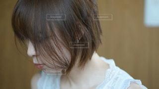 女の子のクローズアップの写真・画像素材[2927091]
