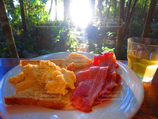 朝食の写真・画像素材[382946]