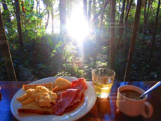 朝食の写真・画像素材[382947]