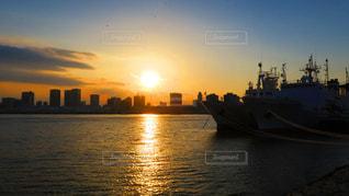 夕日の写真・画像素材[394702]