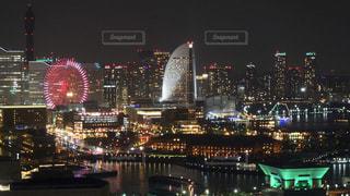 横浜の夜景の写真・画像素材[1011566]