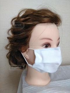 女性のマスク3の写真・画像素材[3303256]