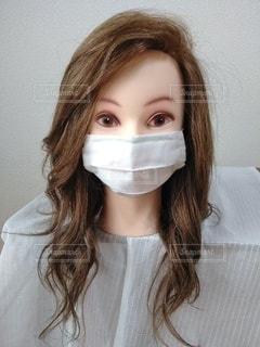 マスクの女性13の写真・画像素材[3513590]