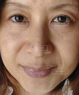 女性のクローズアップの写真・画像素材[3777213]