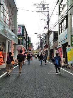 商店街の写真・画像素材[3825088]