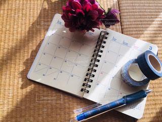 3月のスケジュール帳の写真・画像素材[2950483]