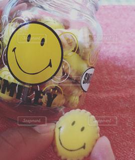 Smileクッキーの写真・画像素材[2979111]