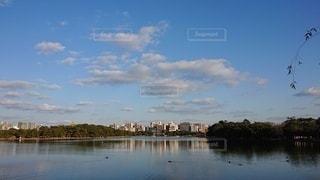 大きな水域の写真・画像素材[2927294]