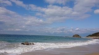 空と波の写真・画像素材[2927979]