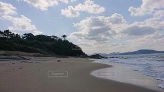 隣の砂浜の写真・画像素材[2928002]