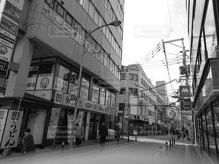 街の通りの写真・画像素材[2932105]